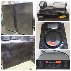 FEATURED: DJ SOUND EQUIPMENT AND SPEAKERS