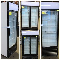 FEATURED: NEW UPRIGHT GLASS DISPLAY COOLERS