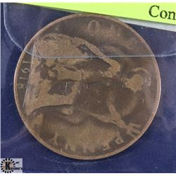 1918 BRITISH LARGE PENNY