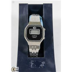 VINTAGE CURTIS LADIES DIGITAL DISPLAY WATCH