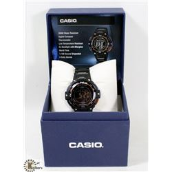 NEW CASIO 200M COMPASS THERMOMETER WATCH