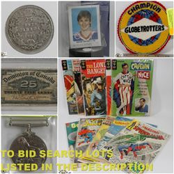 FEATURED COINS, CURRENCY & COLLECTIBLES