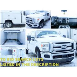 FEATURED 2013 FORD F250 SERVICE TRUCK