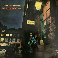 Signed David Bowie The Rise And Fall of Ziggy Stardust Album