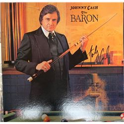Signed Johnny Cash, The Baron Album Cover