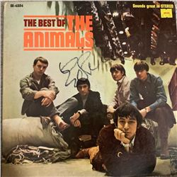 Signed Animals The Best Of The Animals Album Cover