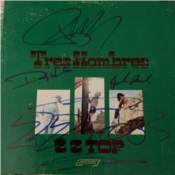 Signed ZZ Top, Tres Hombres Album Cover