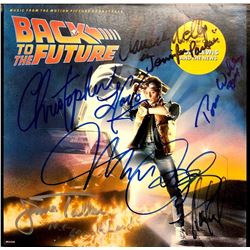 Signed Back To The Future - Soundtrack Album Cover
