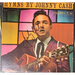 Signed Johnny Cash, Hymns By Johnny Cash Album Cover