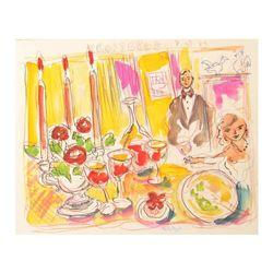 Original Lunch at Troisgros (3-Star French Restaurant) by Ensrud Original
