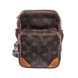 Louis Vuitton Monogram Canvas Leather Amazone Crossbody Bag