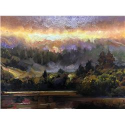 """Brooks Anderson (Mountains)""""River Beams"""""""