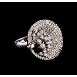 14KT White Gold 1.71 ctw Diamond Ring