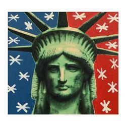 Original Liberty Head by Steve Kaufman (1960-2010)