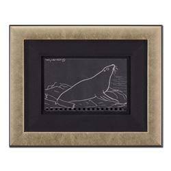 Original Seal by Wyland Original