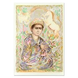 Little Rajah and the Unicorns by Hibel (1917-2014)