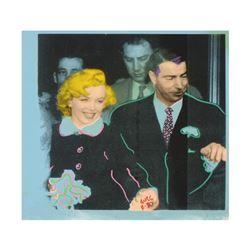 "Original Mr. and Mrs. DiMaggio by ""Ringo"" Daniel Funes"