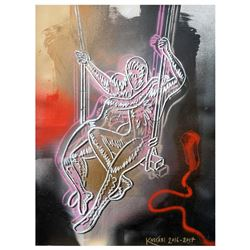 Original Navigating The Dark Side Of Passion by Kostabi Original