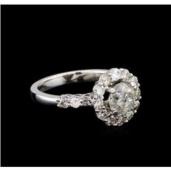 14KT White Gold 1.83 ctw Diamond Ring