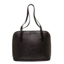 Louis Vuitton Black Epi Leather Lussac Shoulder Bag