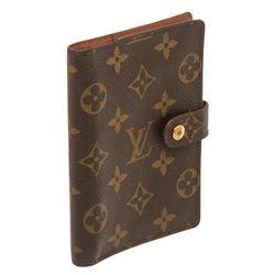 Louis Vuitton Monogram Canvas Leather Agenda PM Cover