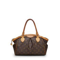 Louis Vuitton Monogram Canvas Leather Tivoli PM Bag