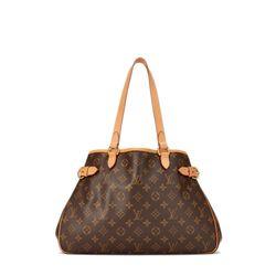 Louis Vuitton Monogram Canvas Leather Batignolles Horizontal Bag