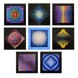 Structures Universelles de L'octogone by Vasarely (1908-1997)