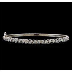 14KT White Gold 1.63 ctw Diamond Bracelet