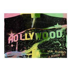 Limited Edition Hollywood by Steve Kaufman (1960-2010)