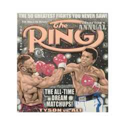 Limited Edition The Ring by Steve Kaufman (1960-2010)