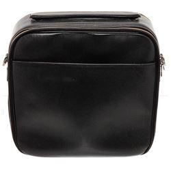 Louis Vuitton Black Taiga Leather Tura Crossbody Messanger Bag