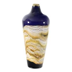 Sculpture/ Glass Small Amethyst Closed Urn by GartnerBlade Glass