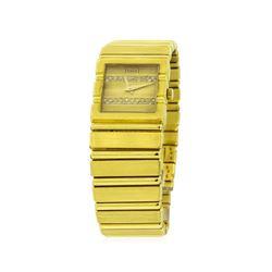 Piaget 18KT Yellow Gold Diamond Polo Watch