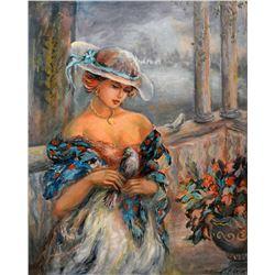 Sevitt Francis Original Mixed Media Painting
