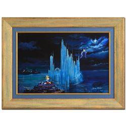 Limited Edition Blue Castle by Ellenshaw & Ellenshaw
