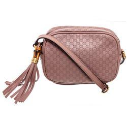Gucci Mauve Microguccissima Sunshine Disco Crossbody Bag