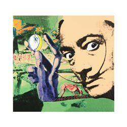 Limited Edition Dali by Steve Kaufman (1960-2010)