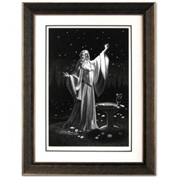 Limited Edition Ring Of Galadriel by Greg Hildebrandt