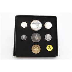 Collectors set with Penny to $20 coin ($20 Gold coin)