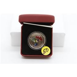 2007 - 25 cent Hummingbird coin