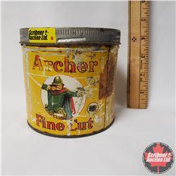 """Archer Fine Cut Tobacco Tin (4""""x4"""")"""