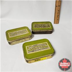 "Collector Trio: Golden Virginia Hand Rolling Tobacco Tins (1"" x 4"" x 3"")"