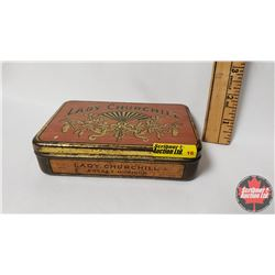 "Lady Churchill Pocket Humidor Tin (1"" x 5"" x 3.5"")"
