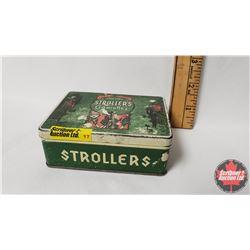 "Strollers Cigarette Tin (1"" x 4"" x 3"")"