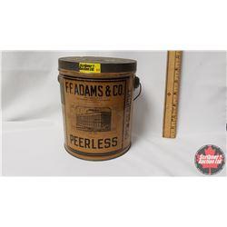 """F.F. Adams & Co. Peerless Tobacco Pail (6-1/2"""" x 5"""")"""