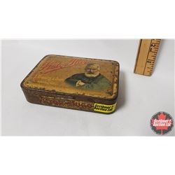 "Victor Hugo Cigar Pocket Tin (4-1/2"" x 3-1/2"" x 1"")"