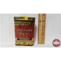 """American Blend Amerikanischer Pfeifentabak 50 Gramm Pocket Tin (4-1/2"""" x 3"""")"""