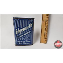 "Edgeworth Ready-Rubbed America's Finest Pipe Tobacco Pocket Tin (4-1/4"" x 3"")"