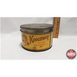"""Kingsway Golden Shred Cigarette Tobacco 25¢ (3"""" x 4-1/2"""")"""